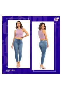 Calça Jeans Skinny Midi Feminina Biotipo