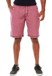 Bermuda Oakley Fp French Terry Short Roxo