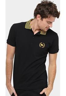 Camisa Polo Rg 518 Piquet Bordada Masculina - Masculino