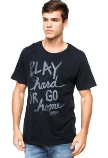 Camiseta Sommer Play Azul-Marinho