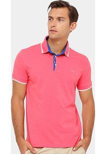 Camisa Polo Colcci Frisos Masculina - Masculino