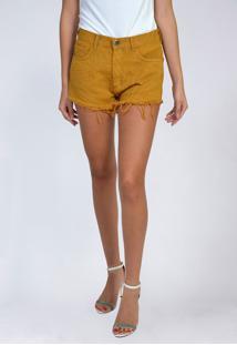 Shorts Jeans Cintura Alta Yck'S