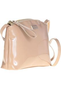 Bolsa Shoulder Bag Verniz Areia - P