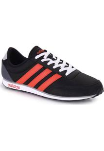 Tênis Jogging Masculino Adidas V Racer - Preto