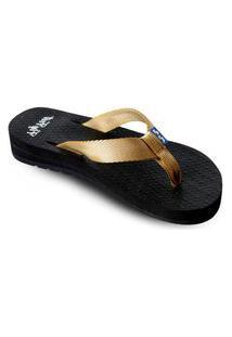 Sandália Fly Feet Anabela Dubai Ortho Pauher