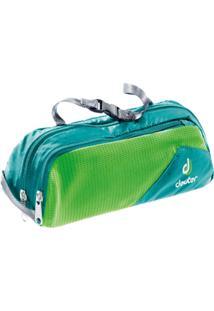 Necessaire Organizadora Wash Bag Tour I Para Viagens Azul E Verde - Deuter