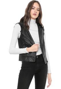 Colete Calvin Klein Jeans Resinado Preto