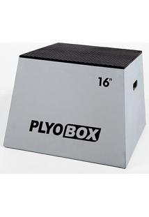 Banco Para Salto Pliométrico Plyo Box - 16? (40,64Cm) - Unissex