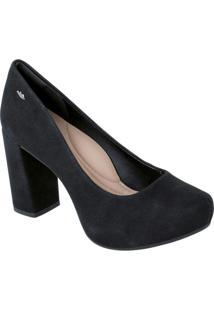 Sapato Dakota Preto Com Salto Bloco