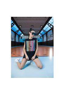 T-Shirt Muscle Preto Ref: 502Ts002366 T-Shirt Muscle Preto Ref: 502Ts002366 - P - Preto My Favorite