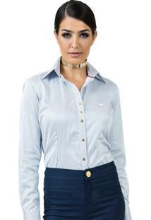 ... Camisa Premium Principessa Yandra Listrada Azul 23506cf0d96a2