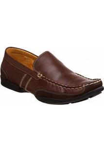 Sapato Masculino Loafer Sandro Mosocoloni Nauro Marrom