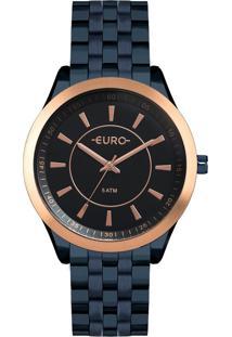 Relógio Color Slim Azul Euro Eu2035Yox/4A