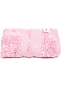 Toalha De Rosto Karsten Fio Egípcio Elegance Rosa