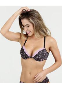Sutiã Feminino Nadador Estampado Marisa