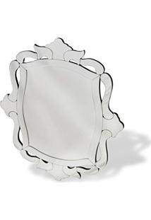 Espelho De Parede Retangular Arabesco 67Cmx78Cm Nakine
