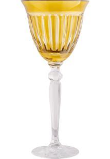 Taça De Cristal Lodz Para Vinho De 200 Ml - Âmbar Light