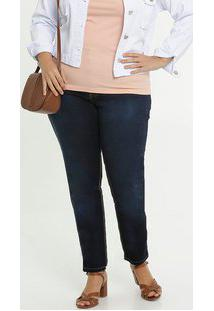 Calça Jeans Feminina Skinny Plus Size Biotipo