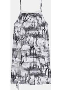 Vestido Com Alças Babado Tecido Tucson - Lez A Lez