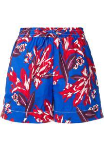 P.A.R.O.S.H. Bermuda Floral - Azul