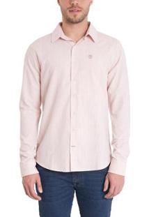 Camisa Timberland Mill River Linen Shirt Regular Masculina - Masculino