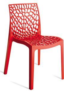 Cadeira Gruvyer S6316 – Or Design. - Vermelho