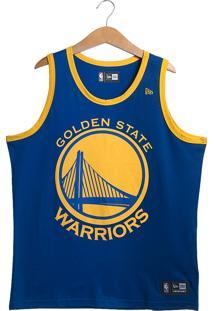 Regata New Era Golden State Warriors Masculina