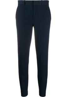 Polo Ralph Lauren Tailored Cropped Trousers - Azul