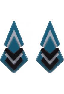 Brinco Pitanga Diores Azul