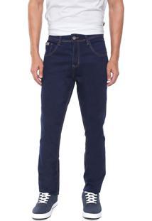 Calça Jeans Biotipo Skinny Pespontos Azul