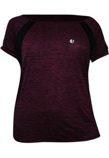 Camiseta Way Plus Size Plank Feminina - Feminino