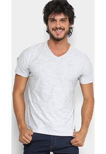 Camiseta Manga Curta Kohmar Flamê Masculina - Masculino-Mescla