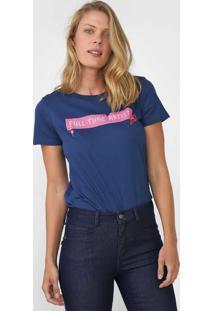 Camiseta Cantão Full Time Artist Azul-Marinho - Kanui