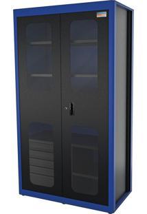 Armário Para Ferramentas 2 Portas E 5 Gavetas Azul 44955223 Tramontina