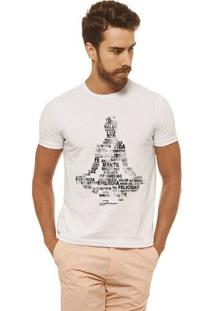 Camiseta Joss - Buda Energia - Masculina - Masculino-Branco