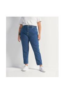 Calça Mom Jeans Lisa Curve & Plus Size