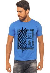 Camiseta Joss - Surf Flor Folha - Masculina - Masculino