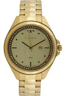 Relógio Technos 2015Cbv/4X Dourado