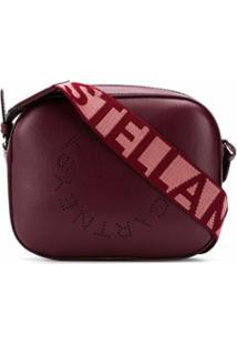 Stella Mccartney Bolsa Tiracolo Stella Mini Com Logo - Vermelho