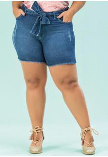Bermuda Jeans Médio