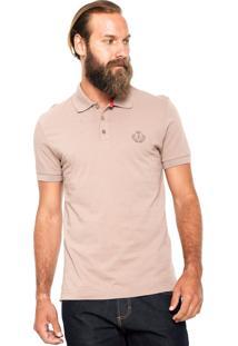 Camisa Polo Forum Custom Marrom