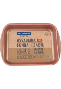 Assadeira Bakery- Bronze- 6,3X39,2X28,2Cmtramontina