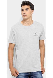 Camiseta Acostamento Básica Masculina - Masculino-Mescla Escuro