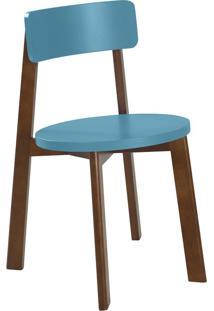 Cadeira Lina 75 Cm 941 Cacau/Azul - Maxima