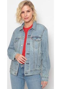 Jaqueta Jeans Estonada- Azul Clarolevis