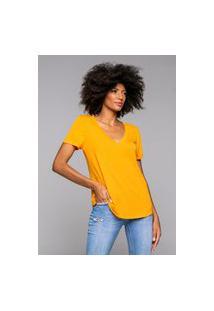 T-Shirt Rineli Ana - Tangerina