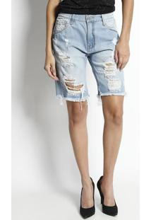 Bermuda Jeans Boy Bandon - Azul Clarojohn John