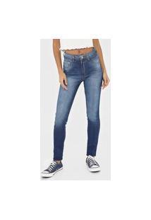 Calça Jeans Biotipo Skinny Melissa Azul
