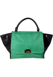 Bolsa Real Arte Textura Verde