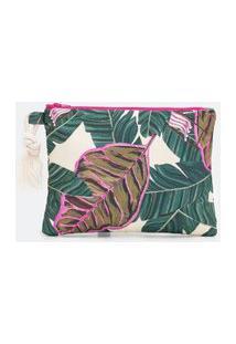 Nécessaire Porta Tablet Estampa Floral | Accessories | Multicores | U